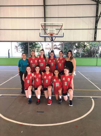 Basquete feminino de Palmas leva o ouro nos Jogos da Juventude
