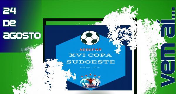 Saiu a tabela da XVI Copa Sudoeste de Futsal