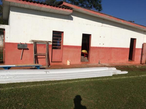 Estádio Municipal Albano Fernandes em Capanema recebe melhorias