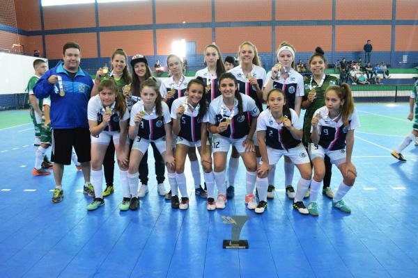 Ampére é campeã no Futsal Feminino e Futebol dos Jogos da Juventude