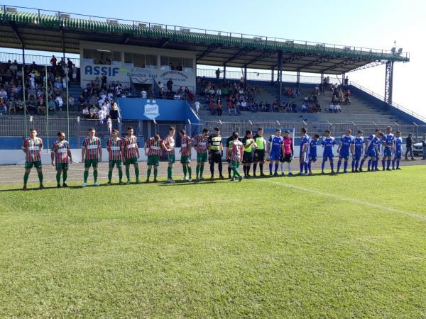 Capanema arranca um empate em Santa Izabel D'Oeste no primeiro jogo da Semifinal da Copa Sudoeste