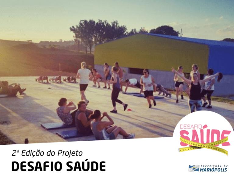 Sorteados os integrantes do Projeto Desafio Saúde  2018 em Mariópolis
