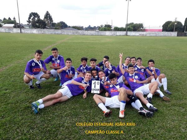 Clevelândia conhece seus representantes da Fase Regional dos Jogos Escolares Bom de Bola