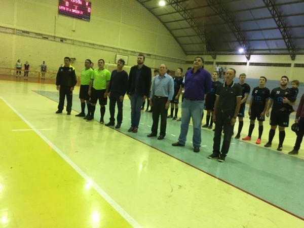 Iniciou em Capanema o Campeonato Municipal de Futsal 2018