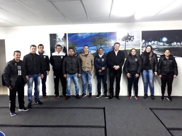 Representantes da Arbitragem do Sudoeste e diretoria da Aesupar promovem Reunião Técnica