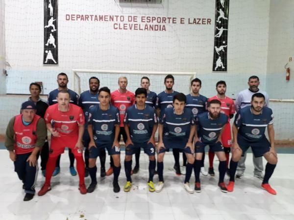 A bola rolou para a primeira rodada da Copa Sudoeste de Futsal 2018