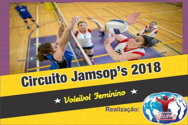 Saíram os classificados da 1ª Etapa do Circuito Jamsops de Voleibol Feminino
