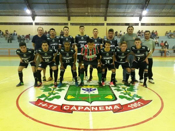 Vitorino e Capanema vencem seus jogos pela Sudoeste de Futsal