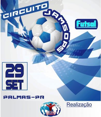 Palmas recebe neste sábado a 1ª Etapa do Circuito Jamsop's de Futsal Sub 17