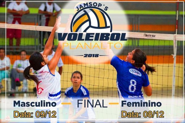 Planalto receberá as Finais dos JAMSOP´s no Voleibol Masculino e Feminino