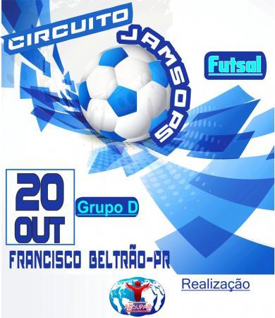 Francisco Beltrão recebe primeira Etapa do Circuito Jamsop´s de Futsal Sub 17