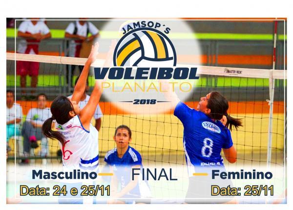 Redefinidas as datas das Finais dos JAMSOP´s no Voleibol Masculino e Feminino em Planalto