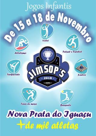 Jogos Infantis dos Municípios do Sudoeste será em Nova Prata