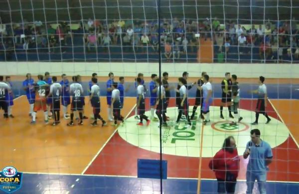 Realizados os jogos de ida das semifinais da XVI Copa Sudoeste de Futsal