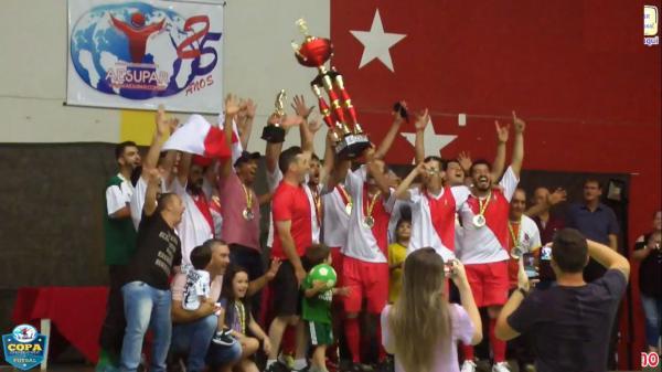 Vitorino é campeão da Copa Sudoeste de Futsal 2018