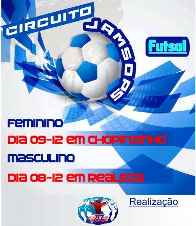 Jamsop's: Futsal Masculino e Feminino será definido neste final de semana
