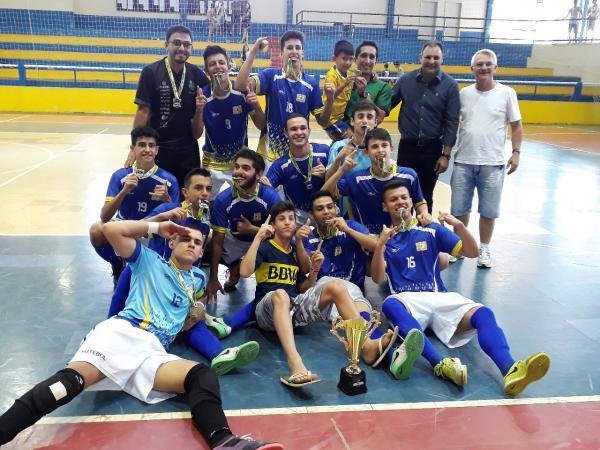 Definidos os campeões do Futsal no Circuito JAMSOP´S 2018